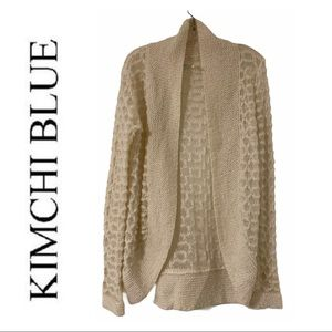 UO Kimchi Blue Cream Wool Blend Cardigan